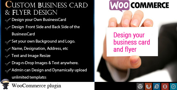 Codeinterest woocommerce business card flyer design woocommerce business card flyer design reheart Images